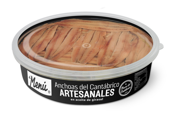Home-made Anchovies from Cantabria in Sunflower Oil