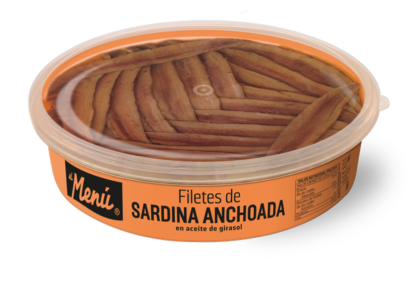 Salt Cured Sardine Fillets in Sunflower Oil