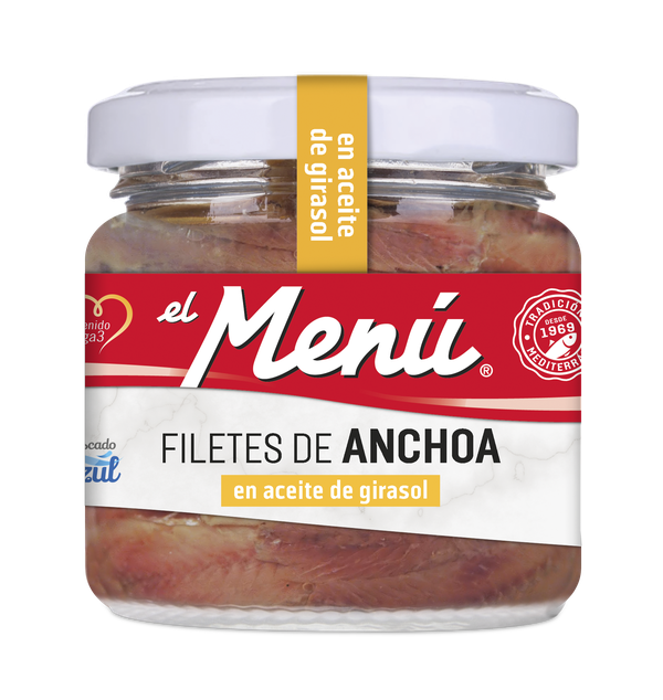 Anchovies in Sunflower Oil