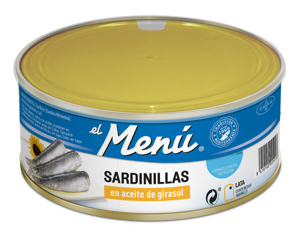 Small Sardines in Sunflower Oil- RO990 gr.