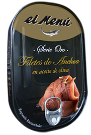 Cantabrian Anchovy Fillets in Olive Oil - Hansa 200 gr.